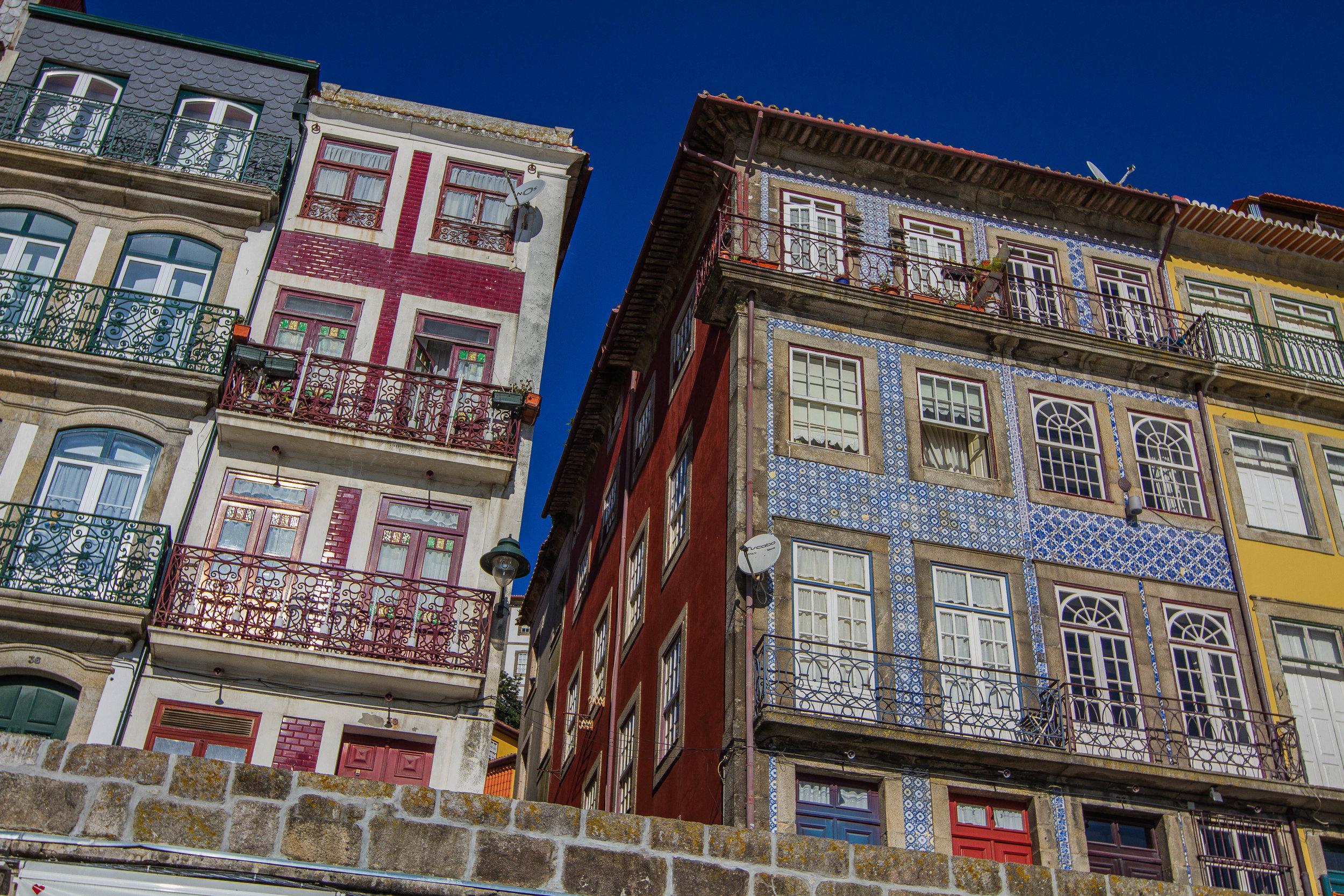 Porto streets.  Photo by Anna Harding.