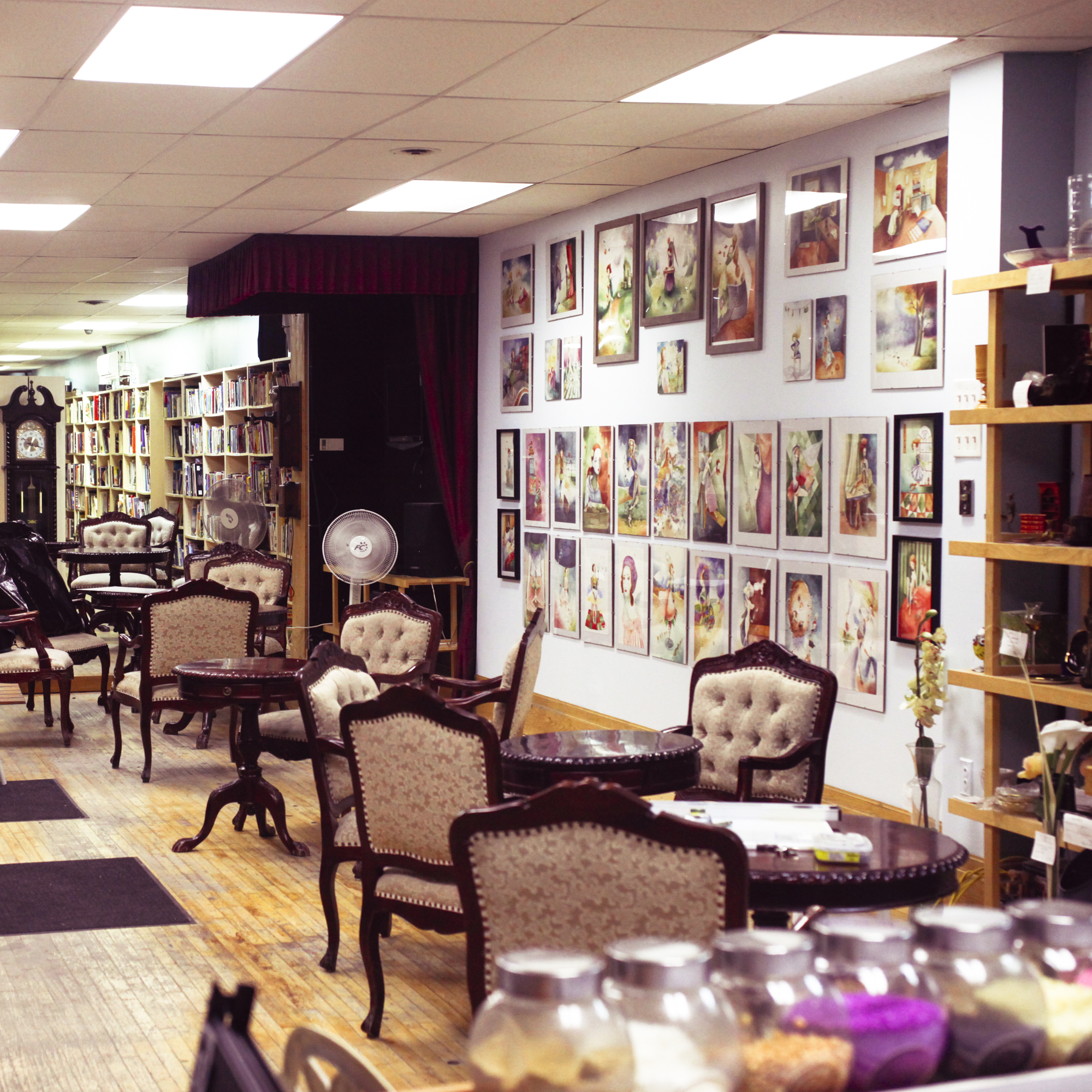 """208 Main street, Newmarket, """"The Books Cafe and Things"""""""