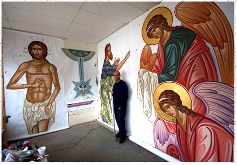 Valentin Streltsov in studio