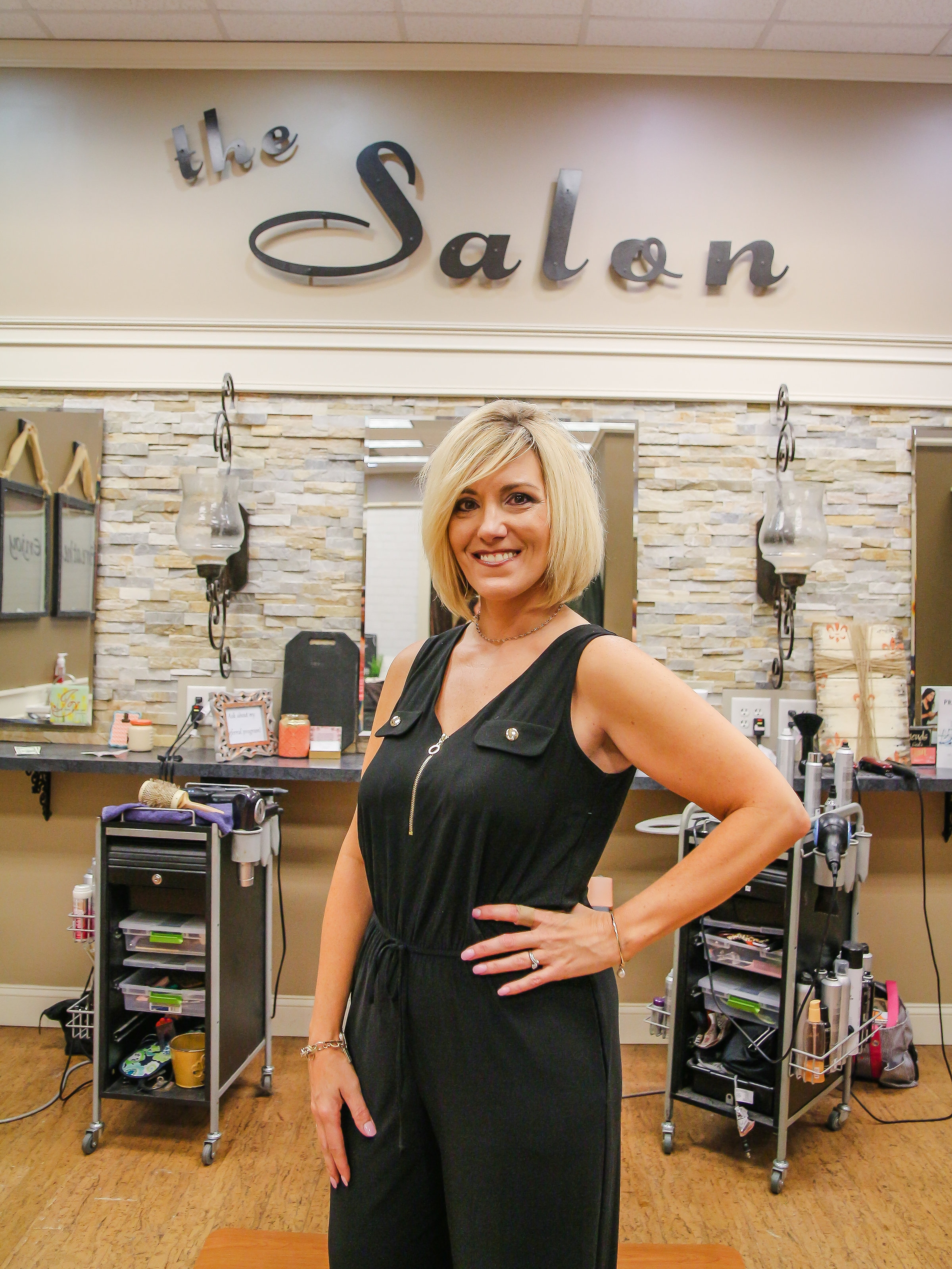 Angie - Stylist, Colorist  Location : Alps Village Shopping Center  Work Schedule : Tues, Wed, Thurs, Fri
