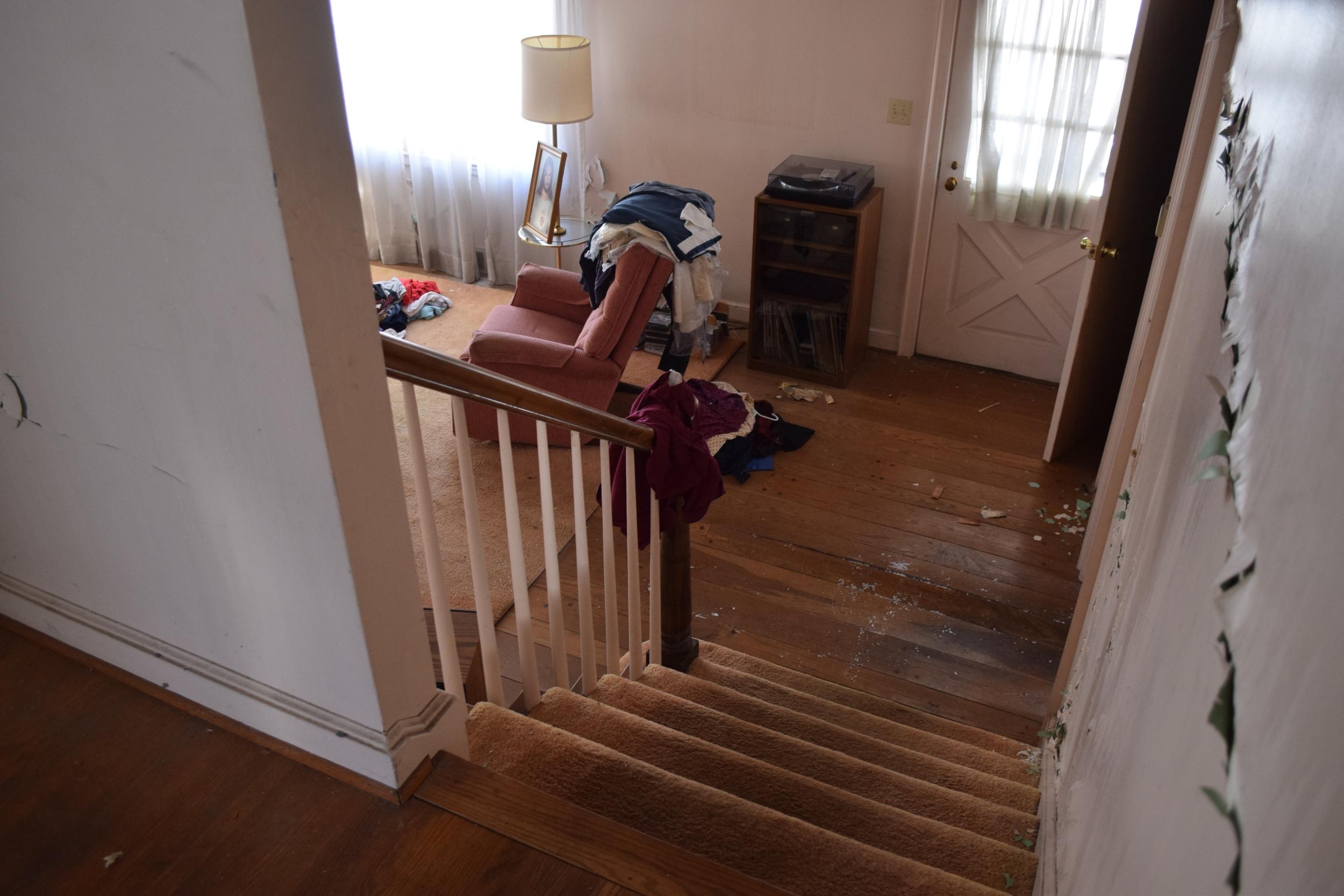 217 Austin - Stair 1 Before.JPG