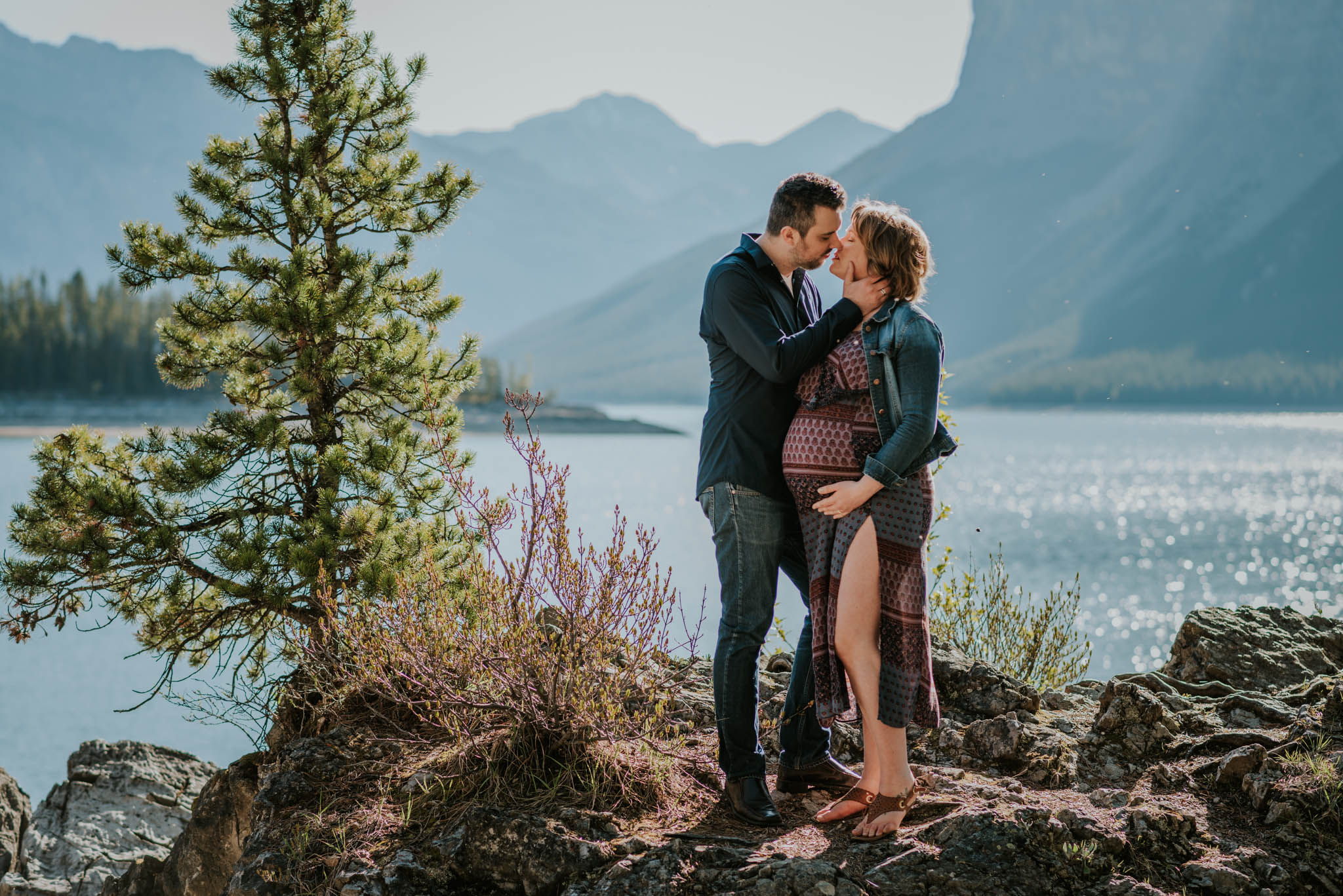 Maternity session in Banff, by Célestine Aerden Photography