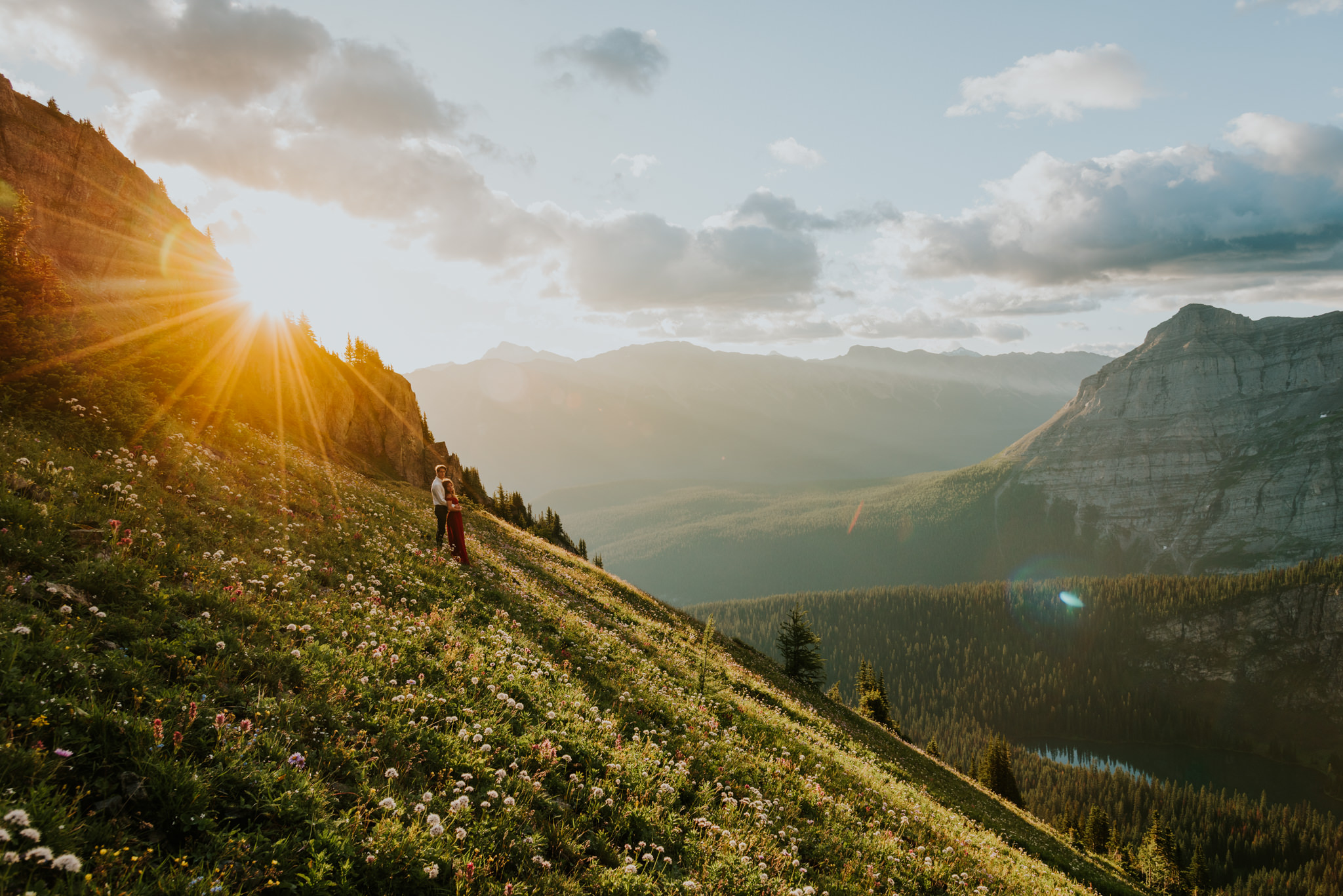 Rocky mountain couple session