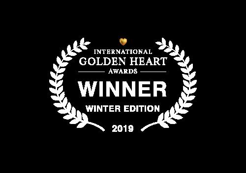 Winner of the International Golden Heart Awards 2019
