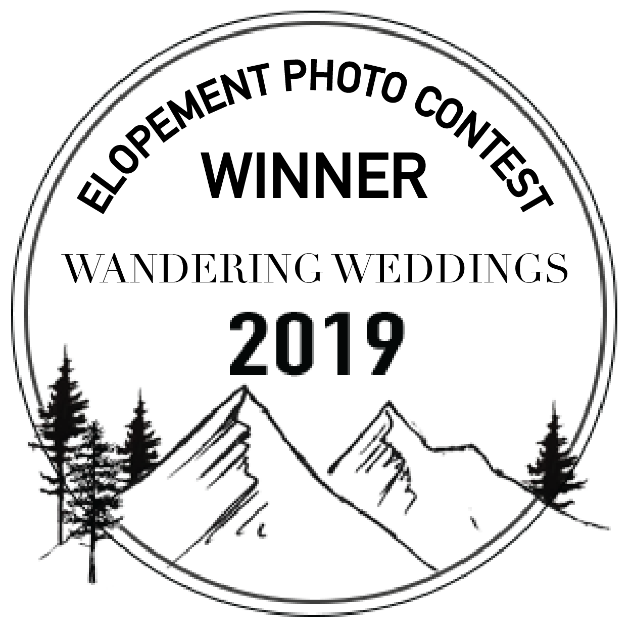 Winner of the 2019 Wandering Weddings Elopement Photo Contest
