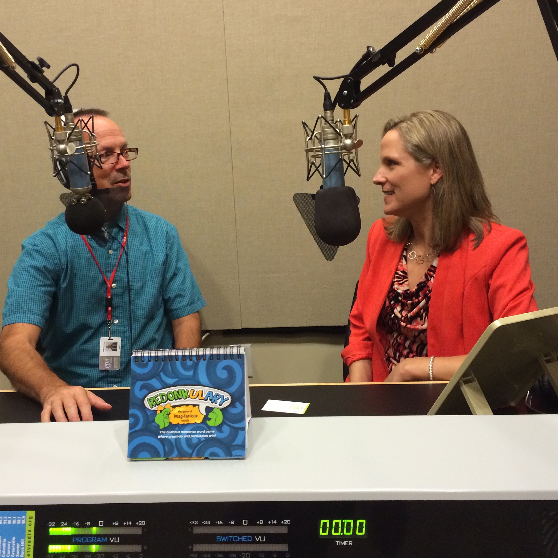 Redonkulary interview with Mike Switzer, host/producer of the South Carolina Business Review on SCETV radio