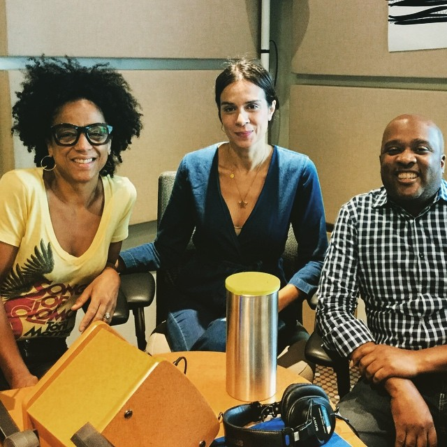 Interview at WNYC—Incredible experience to spend a piece of my morning at @wnyc, talking about FEVAH with the stellar Rebecca Carroll and Director Randall Dottin. This radio spot will go live next week! Thank you for having me. @fevahmovie @hbo @nylatinofilmfestival #fevah #fevahmovie #womeninfilm #nylatinofilmfestival #wnyc #russellhornsby #laroycehawkins #melissajackson #ilovethemboth #film #interview #radio