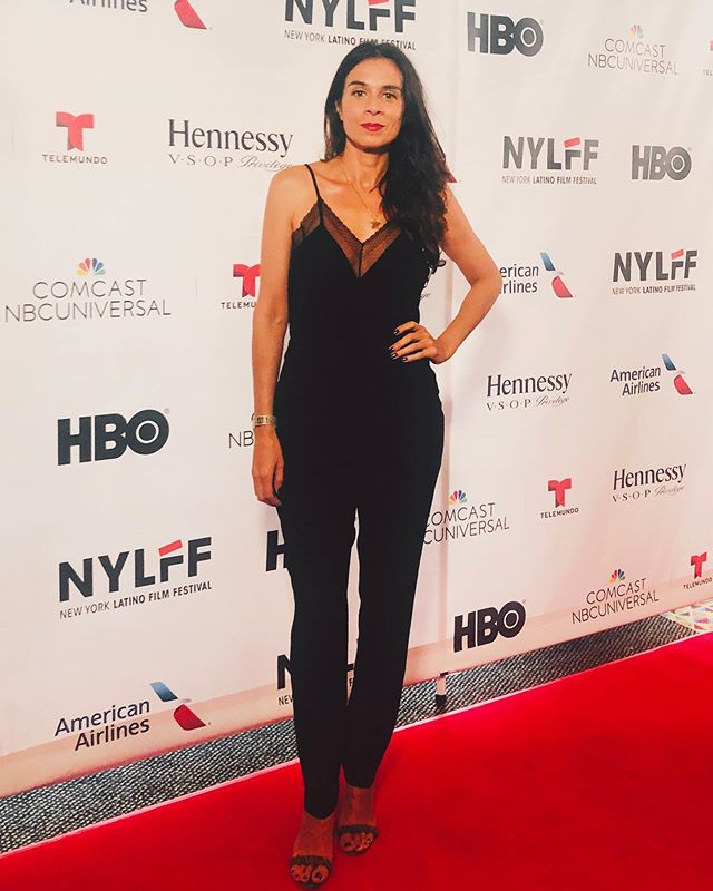 """Can't take myself or this world to seriously—BUT, seriously grateful to be apart of opening night at the New York Latina Film Festival presented by HBO. It's the first time I'm being recognized as """"Latina"""" in this business...so its a very cool moment for me and I thank you. #fevahmovie #fevah #nylatinofilmfestival #hbo #comcastuniversal #americanairlines #wnyc #hennessy #latina #redcarpet #amctheaters #ilovemyjob #grateful #thankyou"""