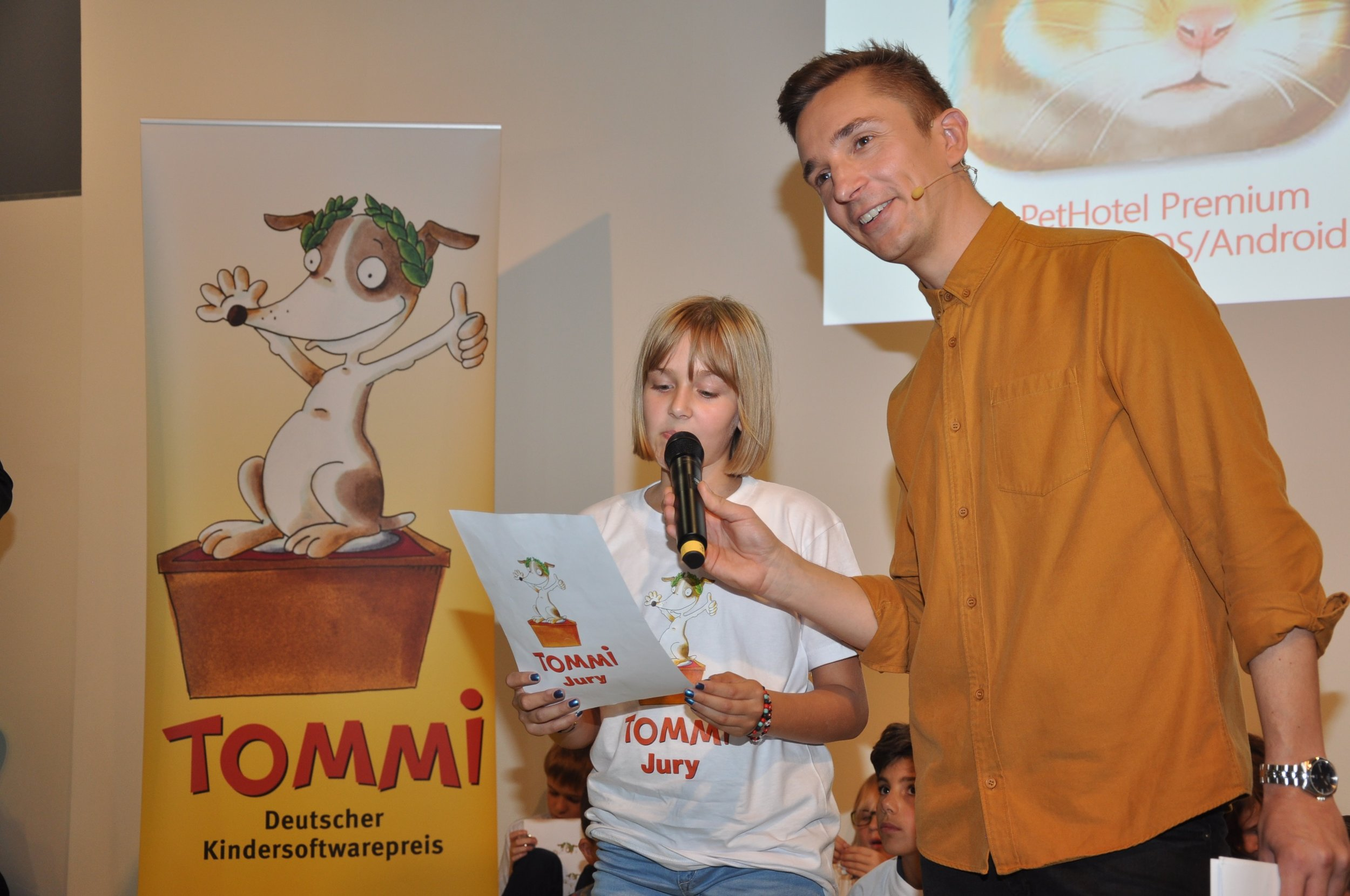 Deutscher Kindersoftwarepreis TOMMI
