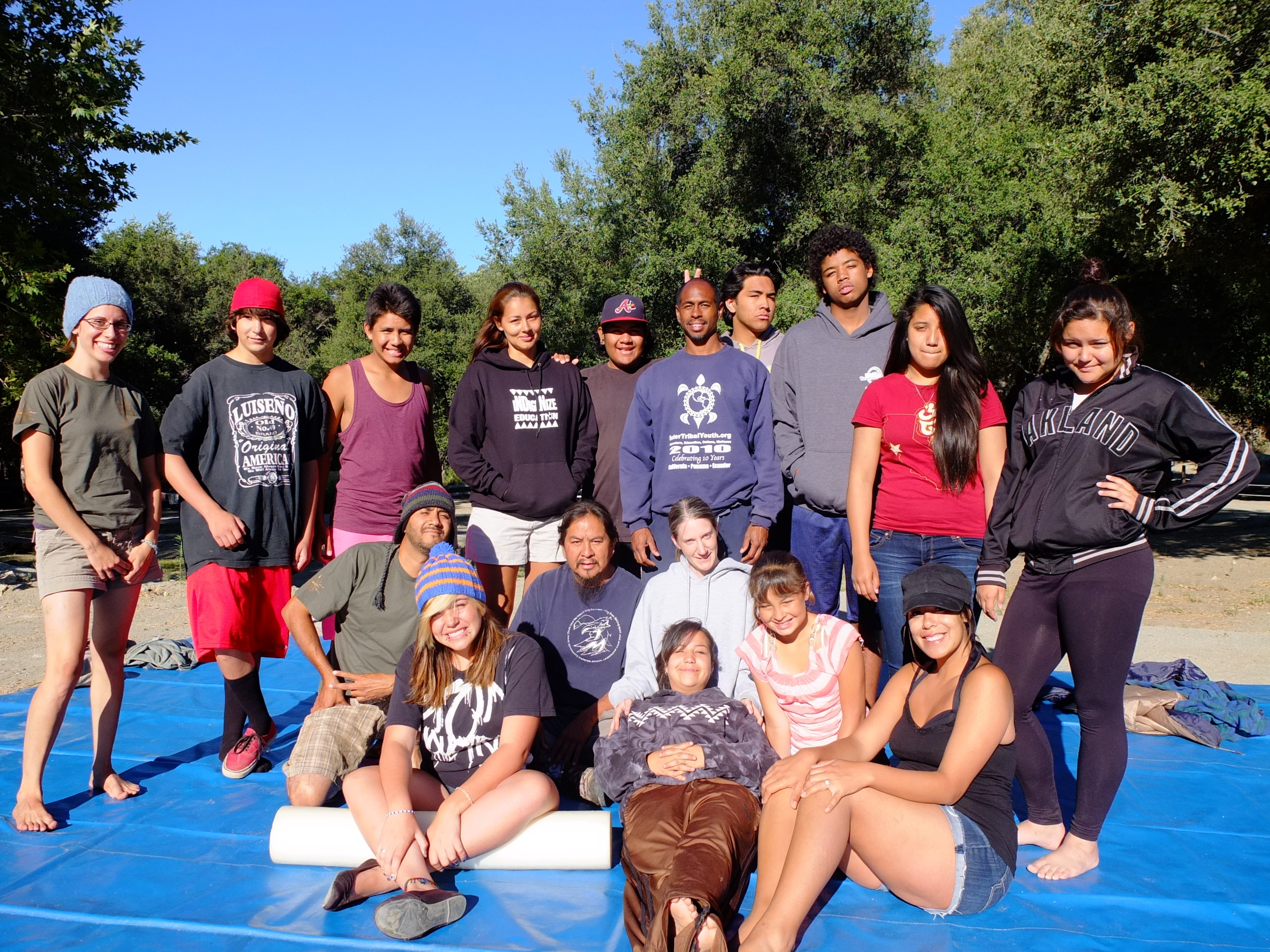 Best medicine is prevention. Mind, Body, Spirit Yoga with Jerome gross, (Tlingit/Phillipino) on the La Jolla - Luiseno Reservation.