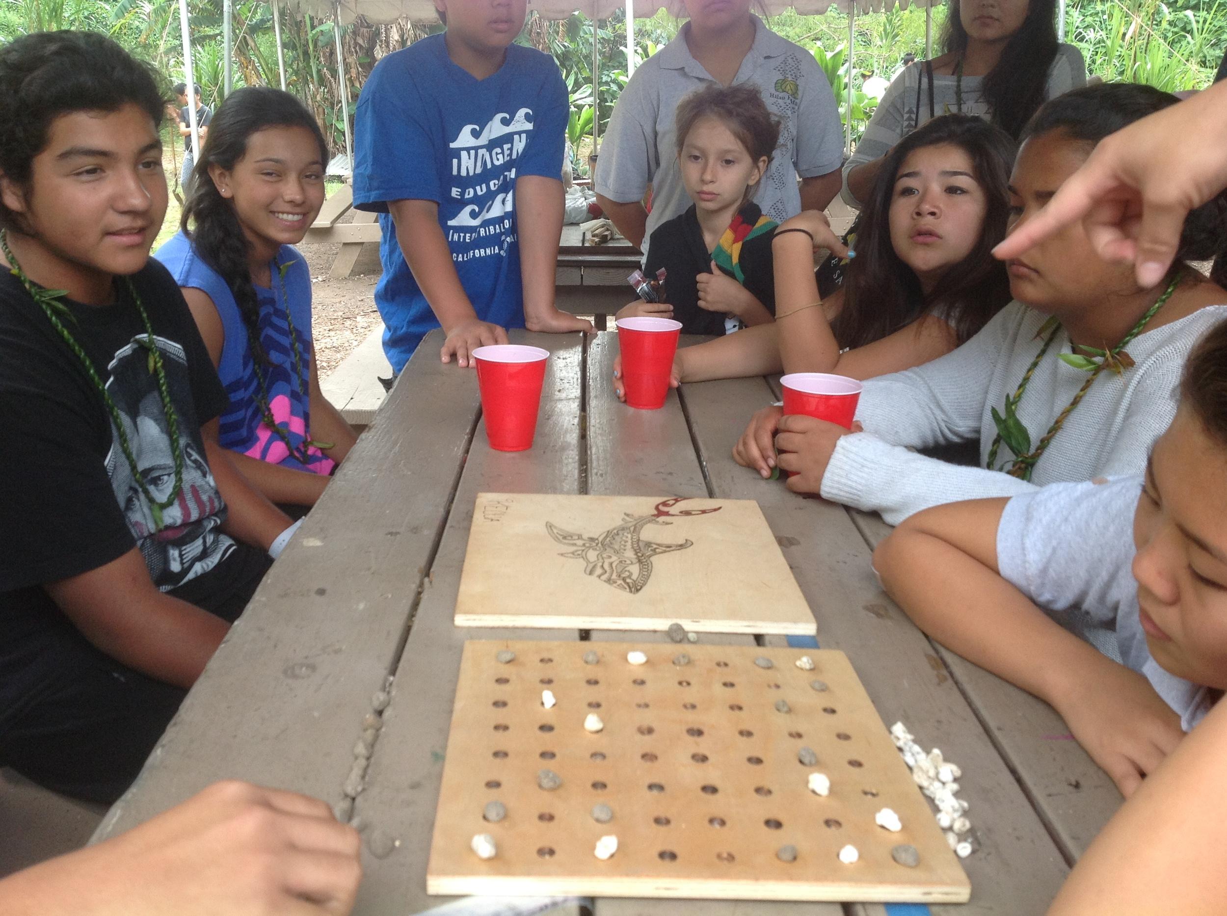 Traditional Hawaiian Board Games
