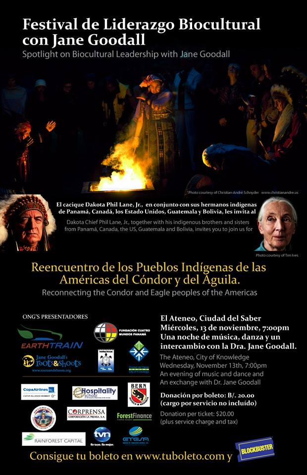 Previous (2103) Flyer from the Meeting of the Eagle and Condor, Blessing Ceremony.