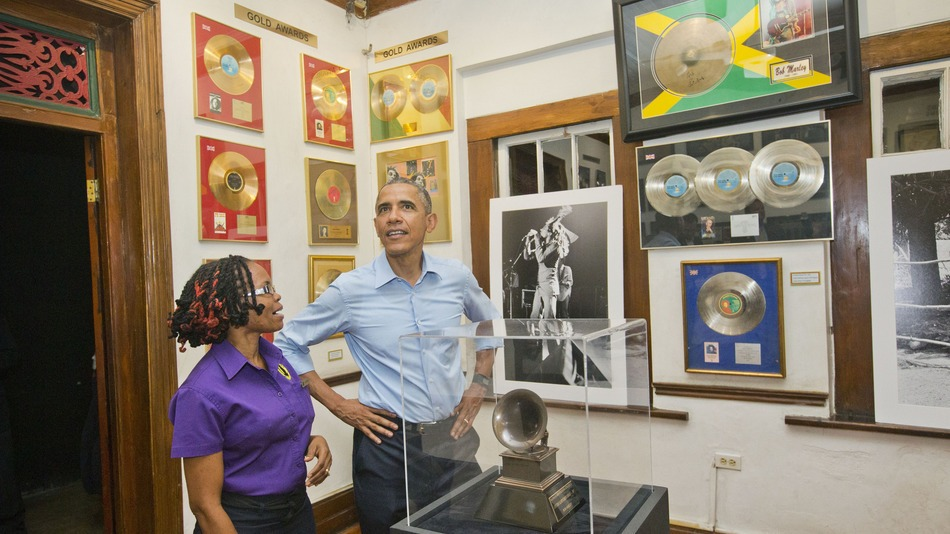 Obama visited Jamaica and Bob Marley Museum in 2015, setting an historical Path to connect with the land that has given the world a soundtrack, leadership, and the fastest Man and Women in the World.