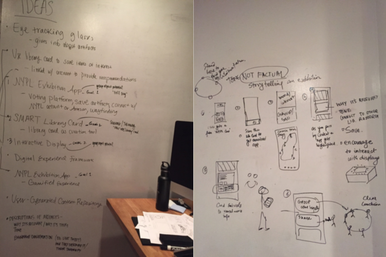 Initial ideation and concept direction