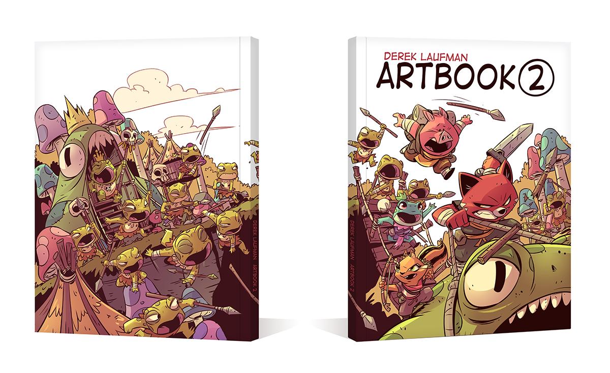 ARTBOOK 2 MOCKUP