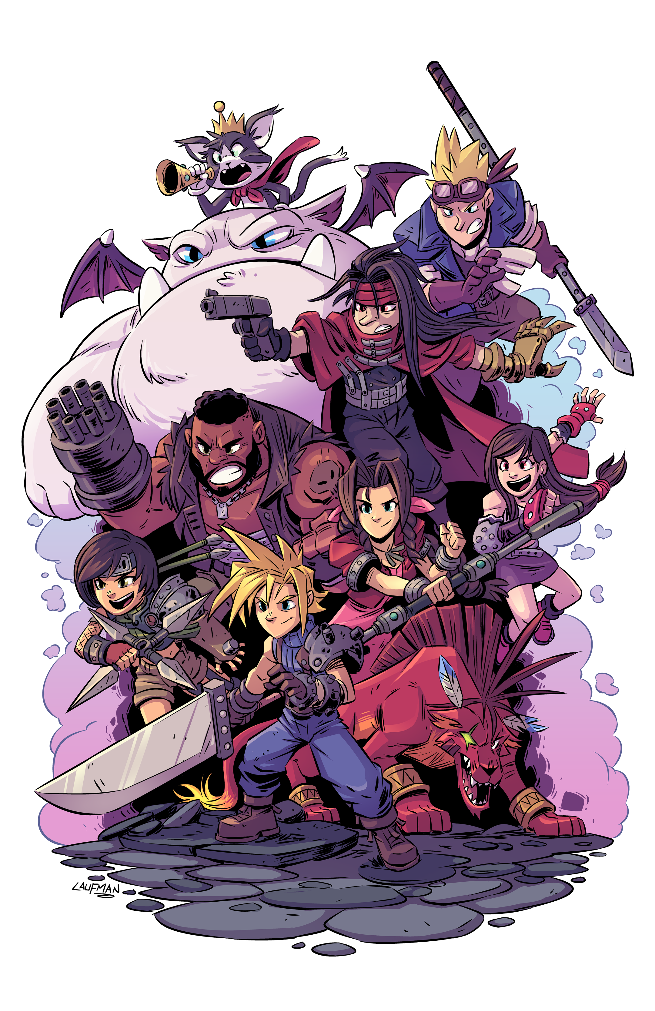 Final Fantasy VII Fan Art