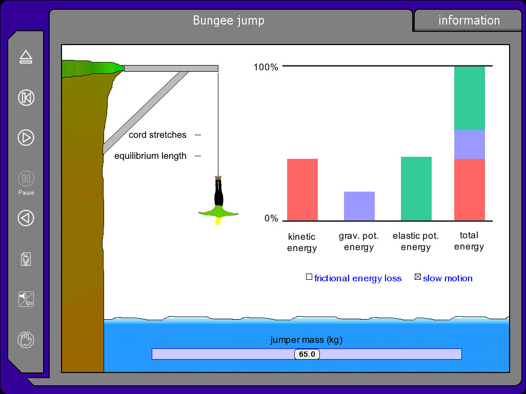 Conservation of Energy - Bungee Jump