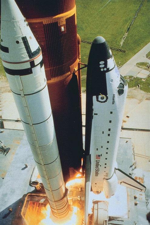 Dynamics of a Rocket Launch