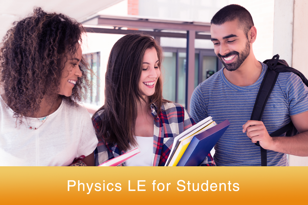 Physics LE online homework for students