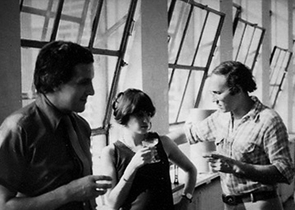 IAUS Fellows: Kenneth Frampton, Diana Agrest, Mario Gandelsonas