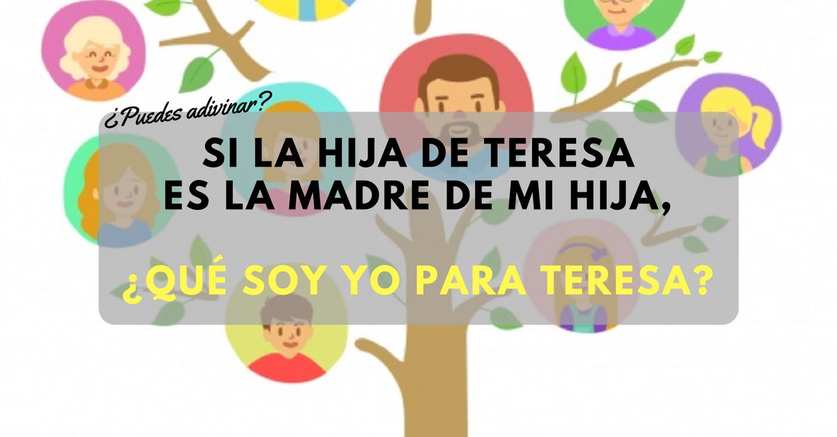 Si la hija de Teresa es la madre de mi hija, ¿qué soy yo para Teresa-.png