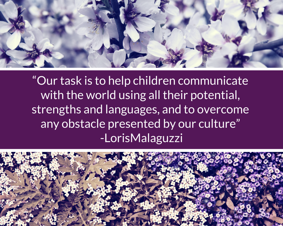 Our task is to help children communicate.