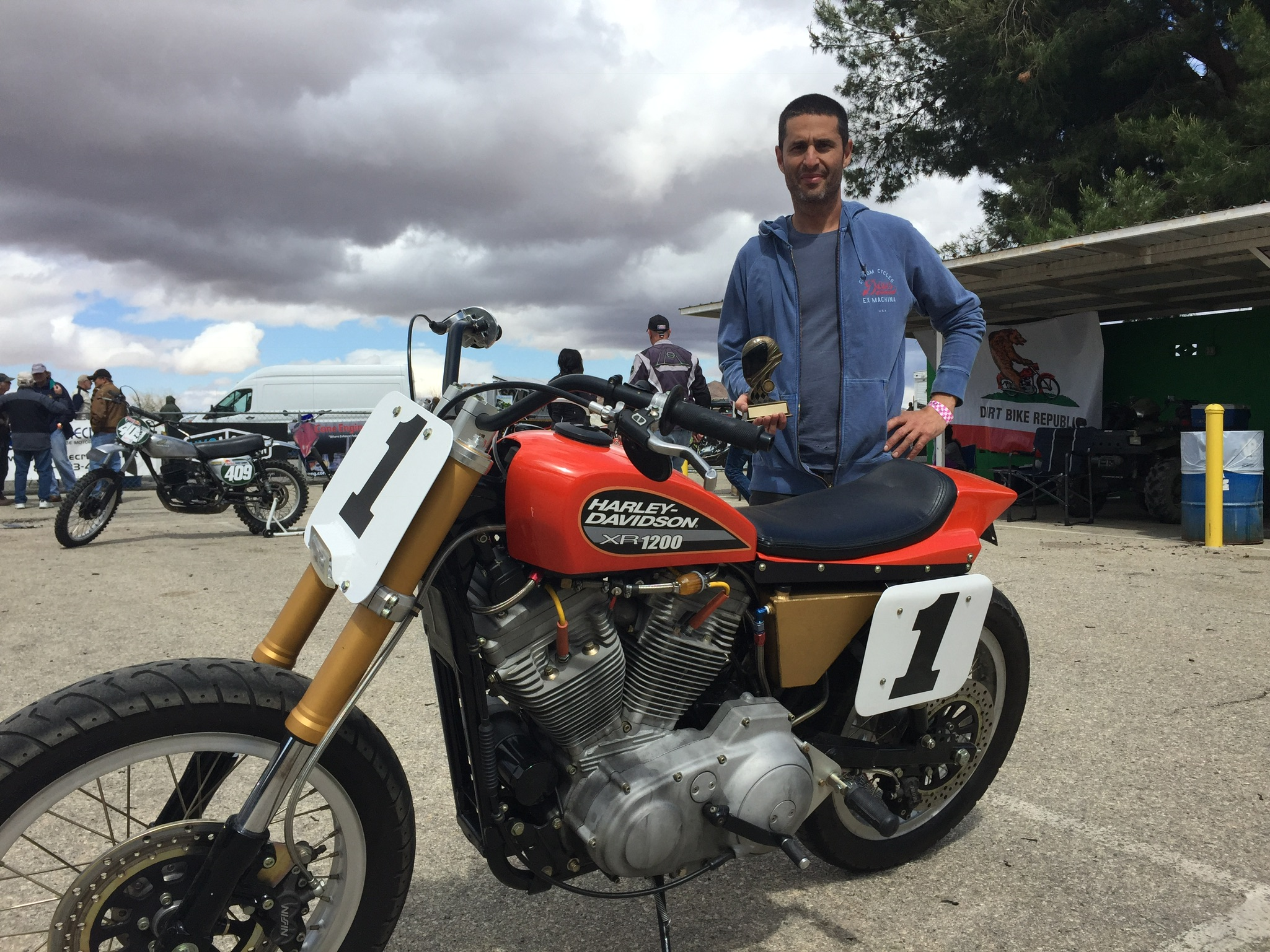 Winner - Best American Custom - Motoclassica Motorcycle Show, Willow Springs April 2015