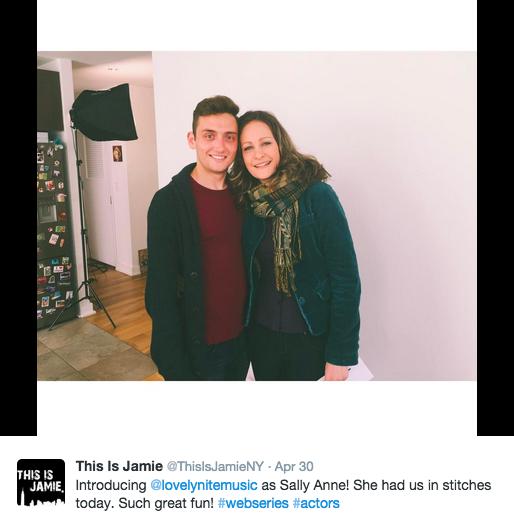 Jonathan Stephens and Leah Gabriel - This is Jamie web series