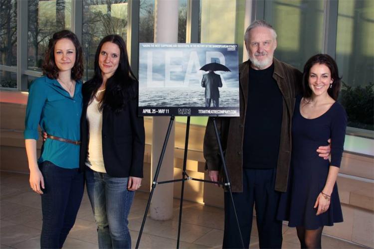 Leah Gabriel, Laura Frye, Terry Layman, Susan Maris, Titan Theatre Company's King Lear