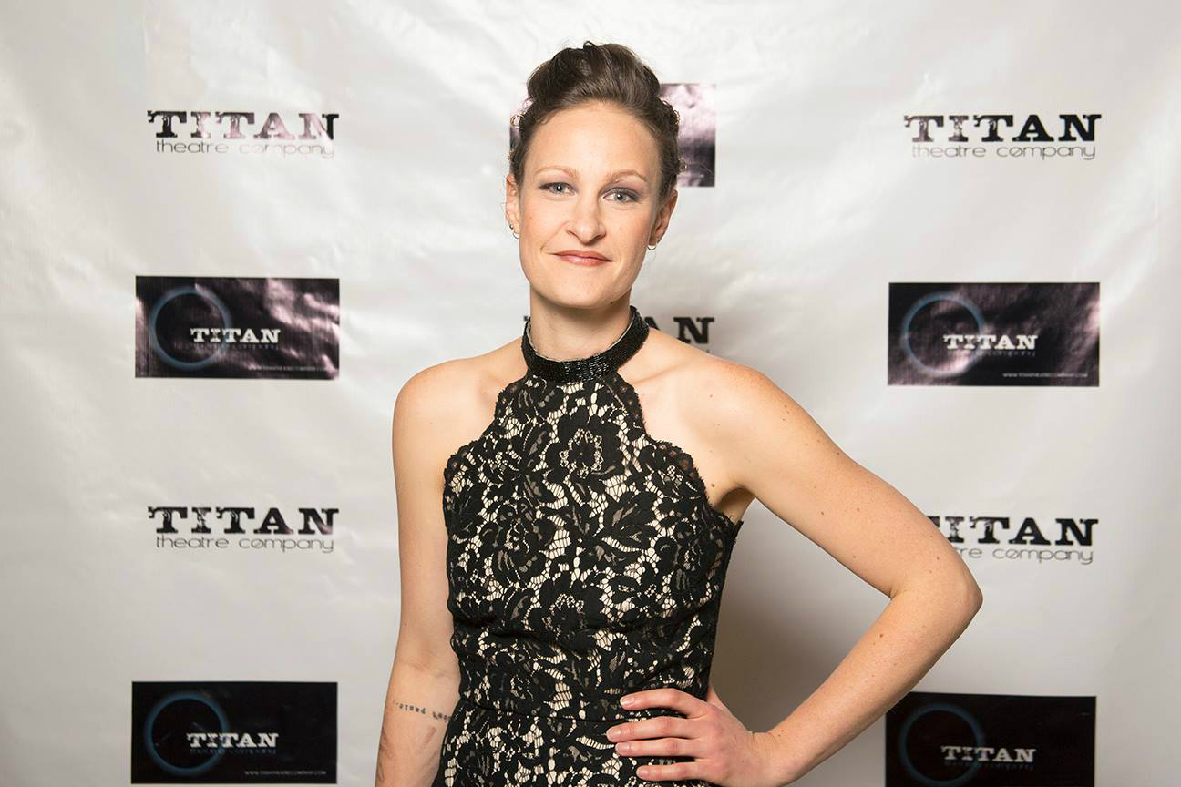 Leah Gabriel on Opening Night of Titan's MEDEA