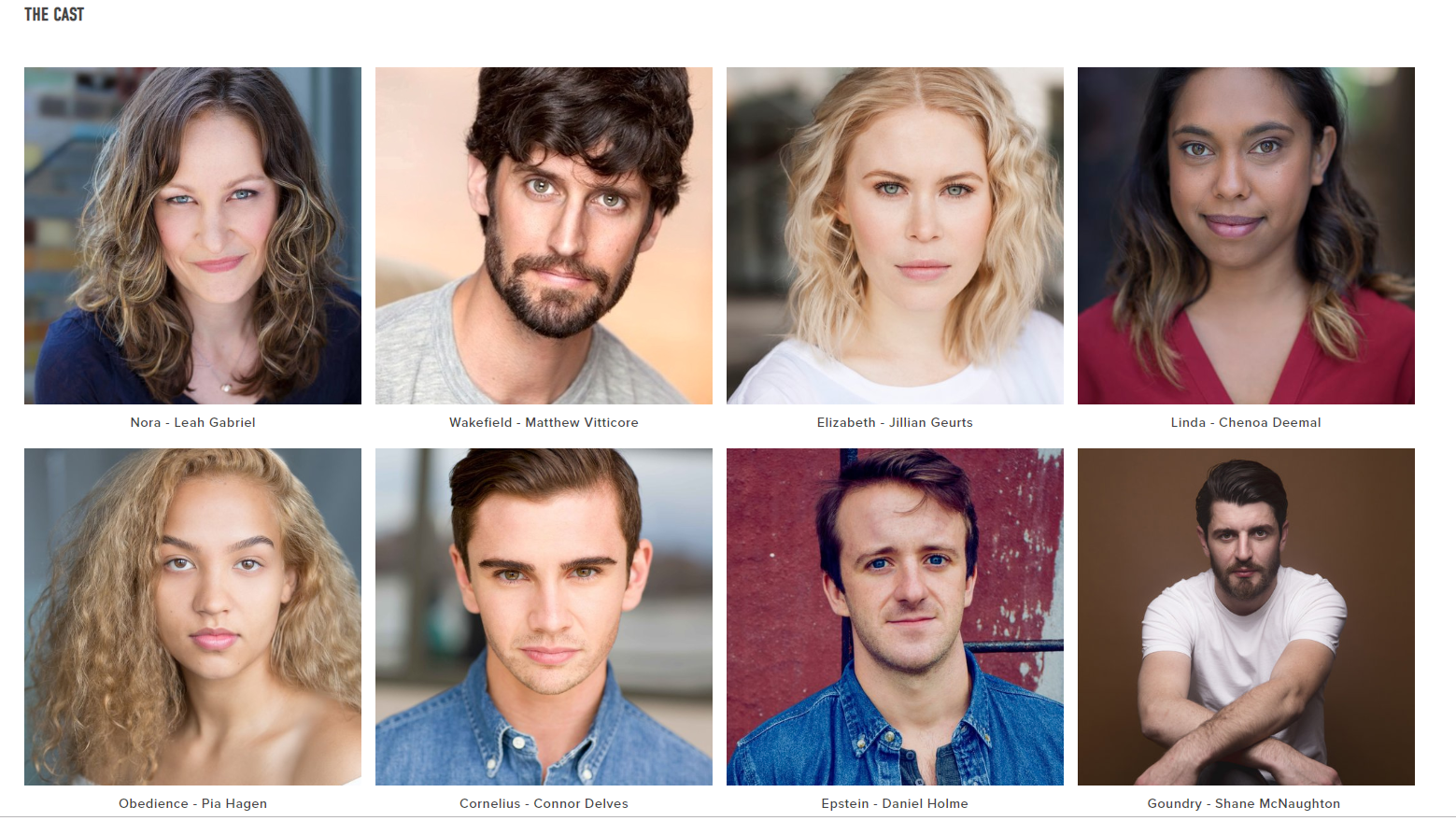 Holy Day Cast New Ohio Theatre NYC 2019