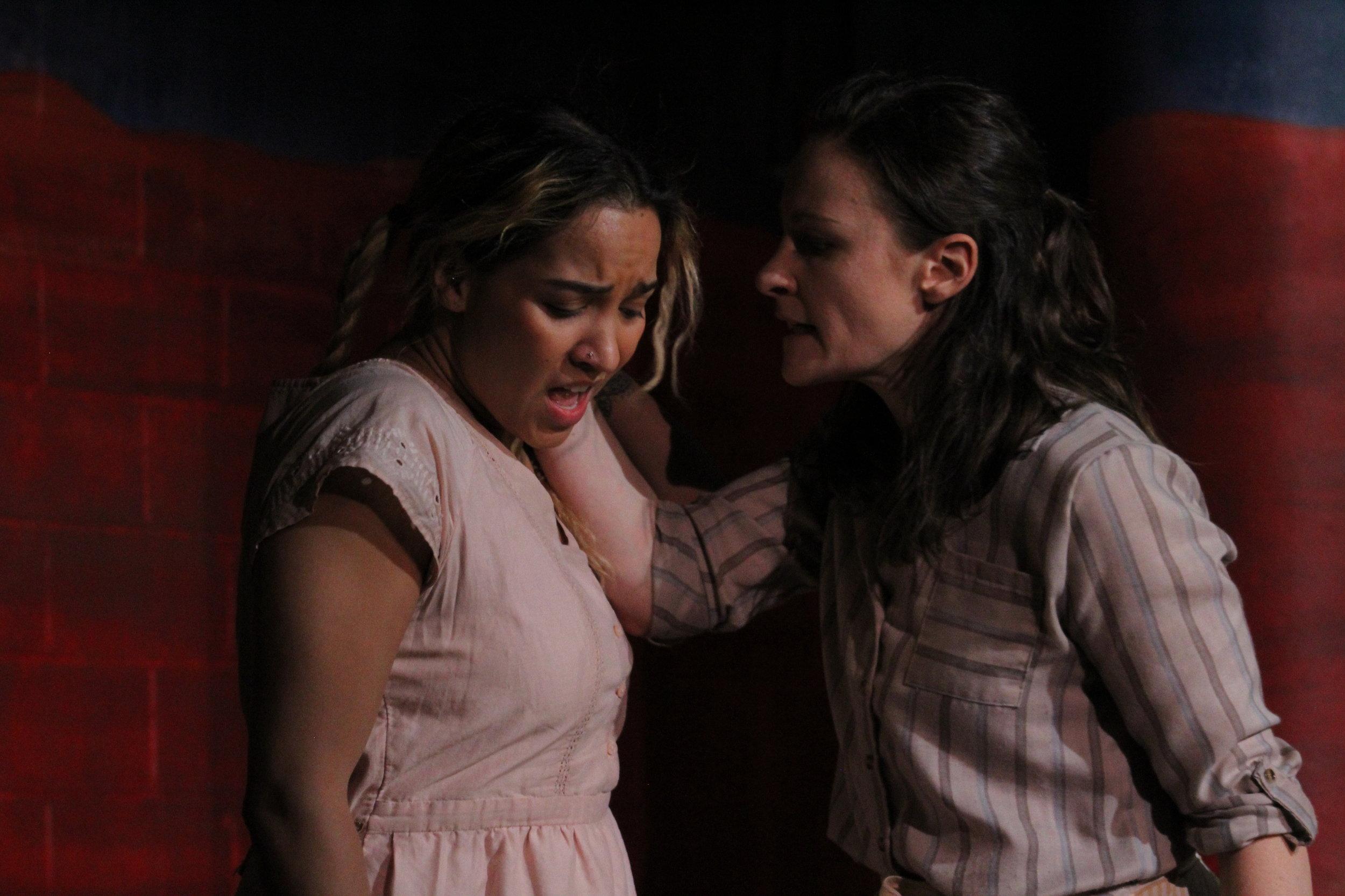 Pia Hagen (Obedience) & Leah Gabriel (Nora)
