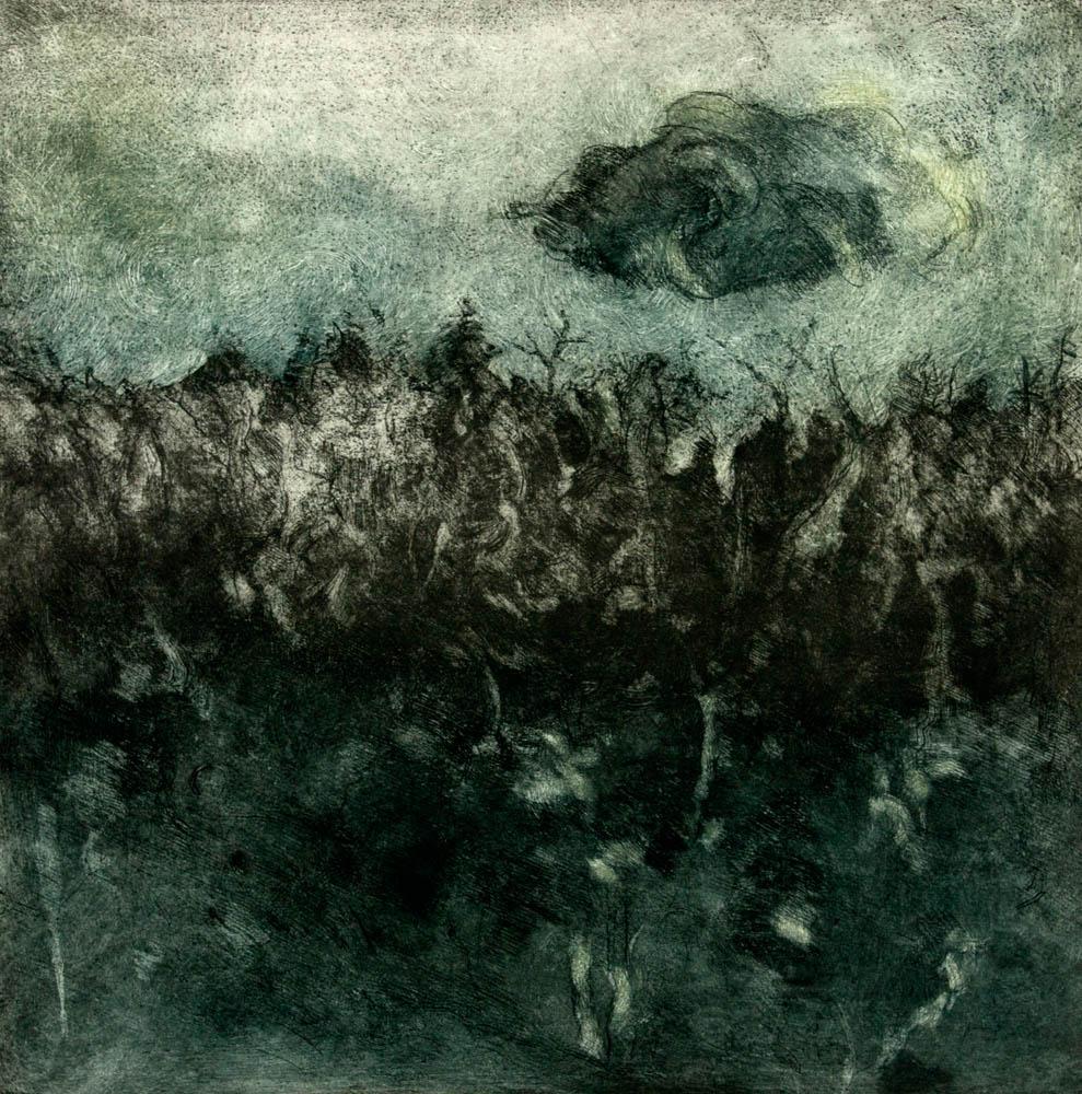 Nocturne, Middle Pond, #2