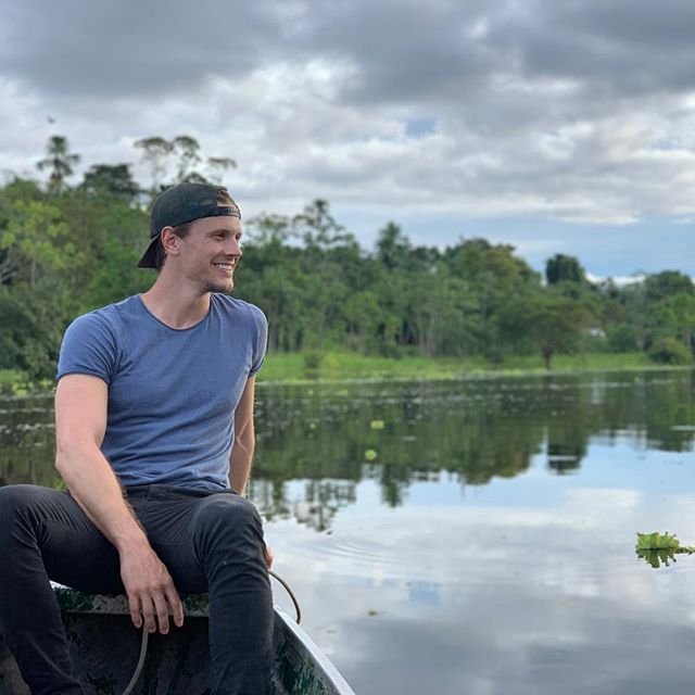 I'd like to say I was thinking something spiritual/motivational while I was boating down the amazon river here...but I was really just hoping that a mosquito doesn't bite me so I don't get malaria and die #malaria #mosquito #amazon #amazonriver #iquitos #peru