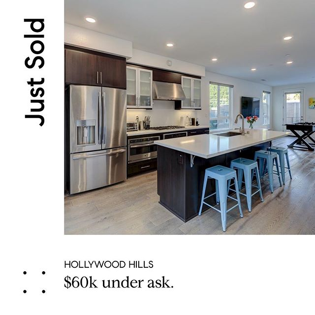 A few days late but closed! Another one for the books! happy for my clients in their new 3bed 4bath small lot subdivision single family home!  Had some interesting tenant situations(to say the least) but in the end all parties were excited! #ontothenextone #hollywoodhills #compass #realestate