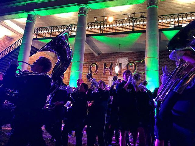 Yell like Hell. It's homecoming! . . . #Marching110 #OUohYeah #Bobcats #AthensOhio #Athens #Ohio #OhioU #OhioUniversity #45701  #IgersOhio #110 #CollegeMarching #HIO #GetThere #MostExctingBandInTheLand #Band #MarchingBand #Capture_Ohio #Music #OnlyInOhio #JJ_Ohio #One_Ohio #NickBolin Photo By: @Nick.Bolin ©Nick Bolin www.NickBolin.com