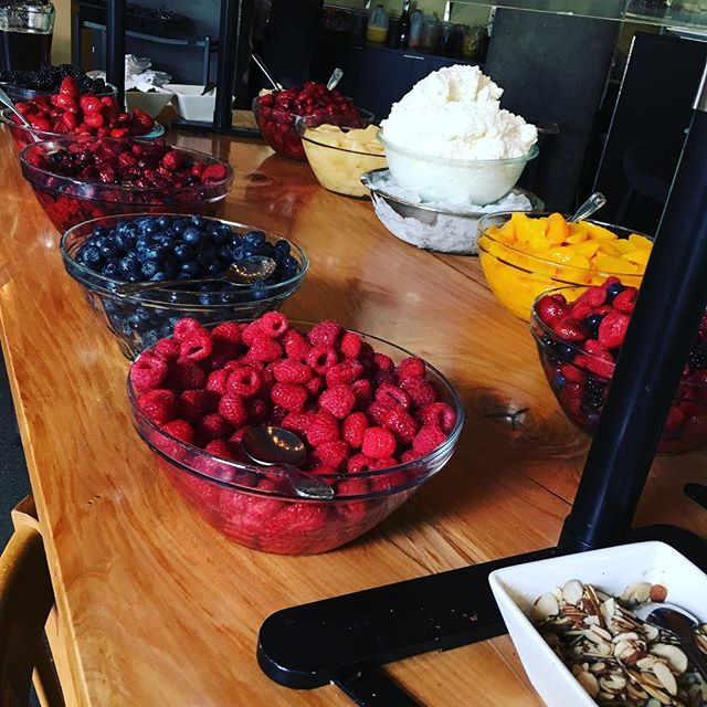 One of Portage Bay's most famous features has come to be its renowned breakfast bar.
