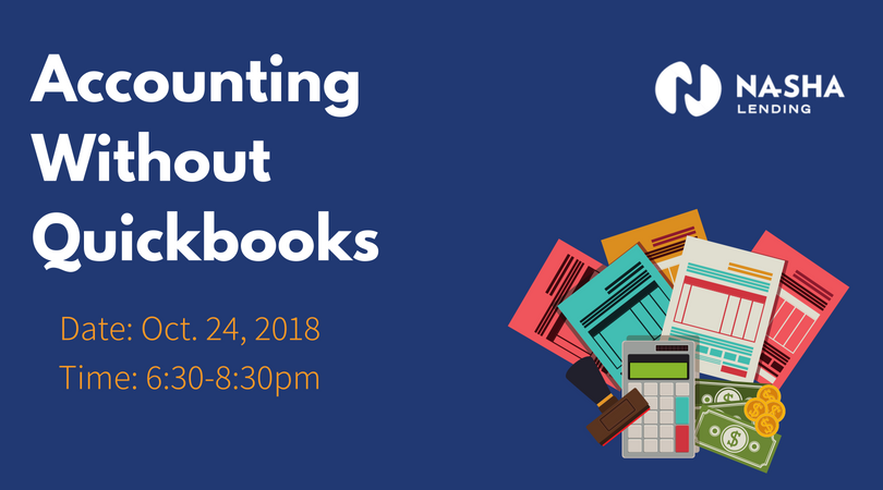 Accounting Without Quickbooks - Learn how to successfully manage your small business' finance and accounting needs. Key topics that will be discussed include an introduction to excel, book and record keeping essentials, techniques for tracking income and expenses, a forecasting overview, and management of cash flow.Date: October 24, 2018Wednesday 6:30pm-8:30pmTextile Hall | 582 Perry Ave, Greenville, SC 29611Cost: $20