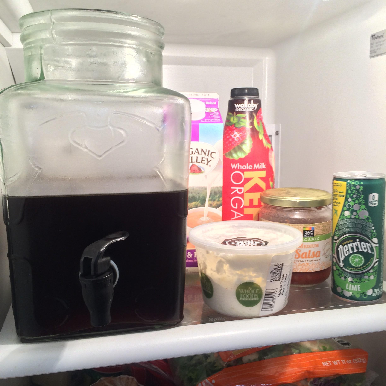 OMG. I just showed you the inside of my fridge.