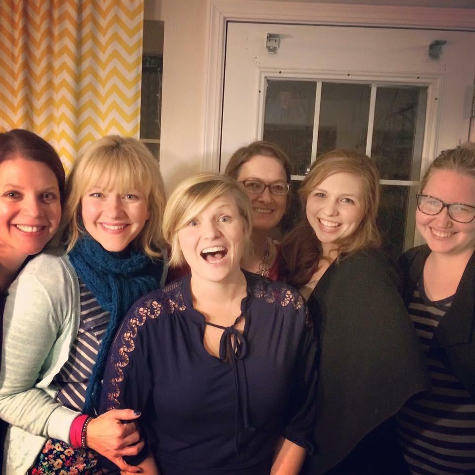 Megan, Sarah, Missy, Kelley, Kirsty and Sarah Tulsa Family Doulas Agency