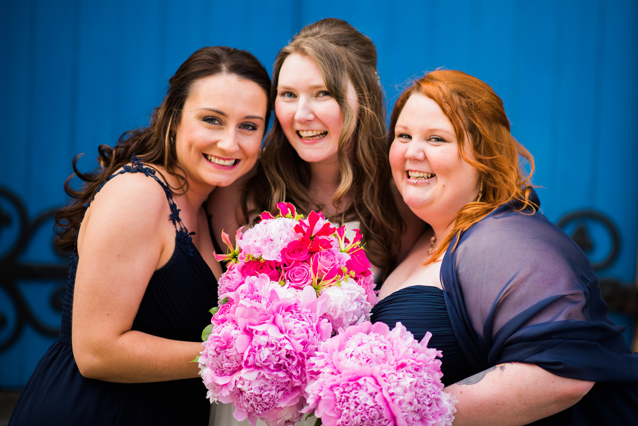 Bride & Bridesmaids Killearn Wedding