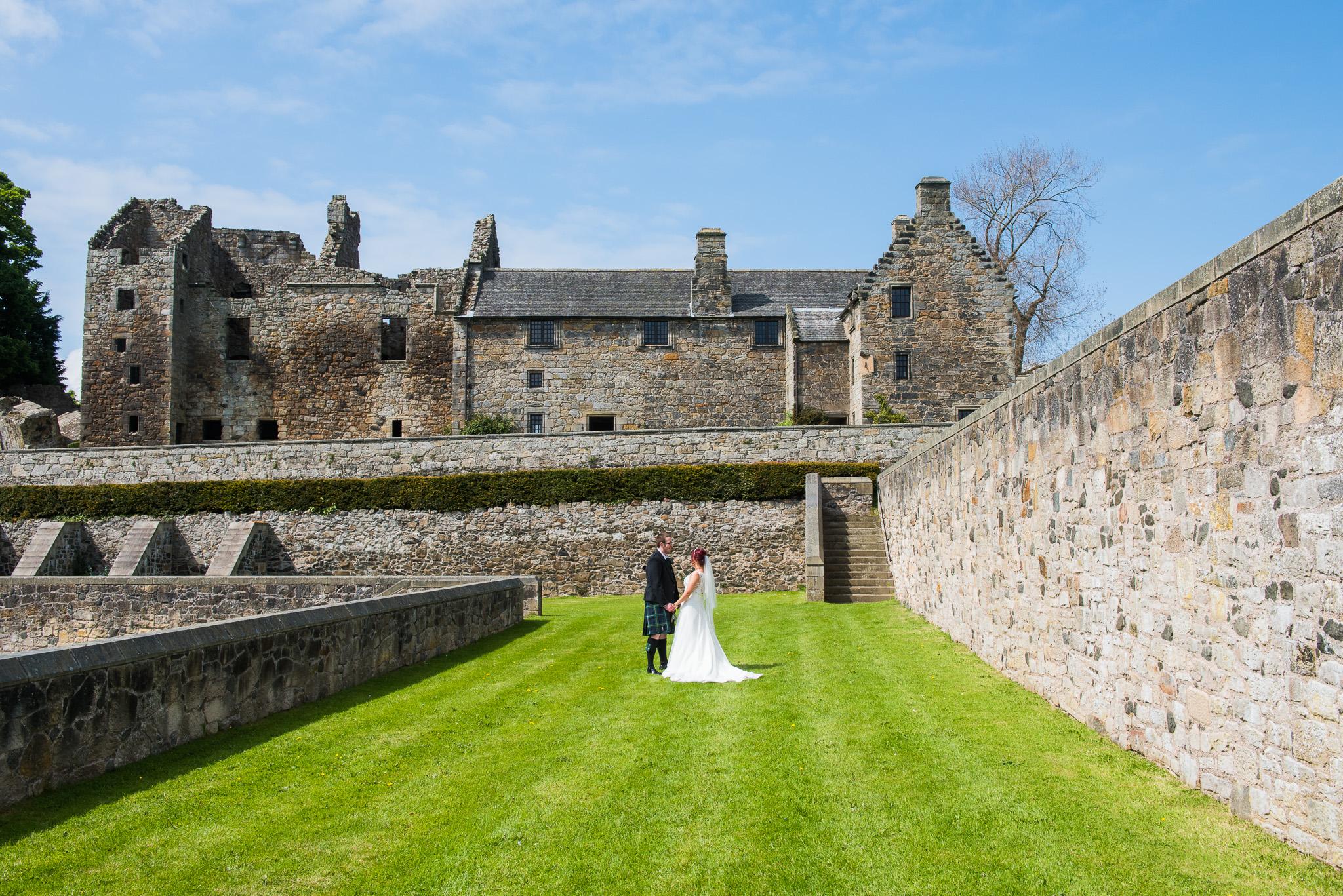 Aberdour Castle Wedding Scotland