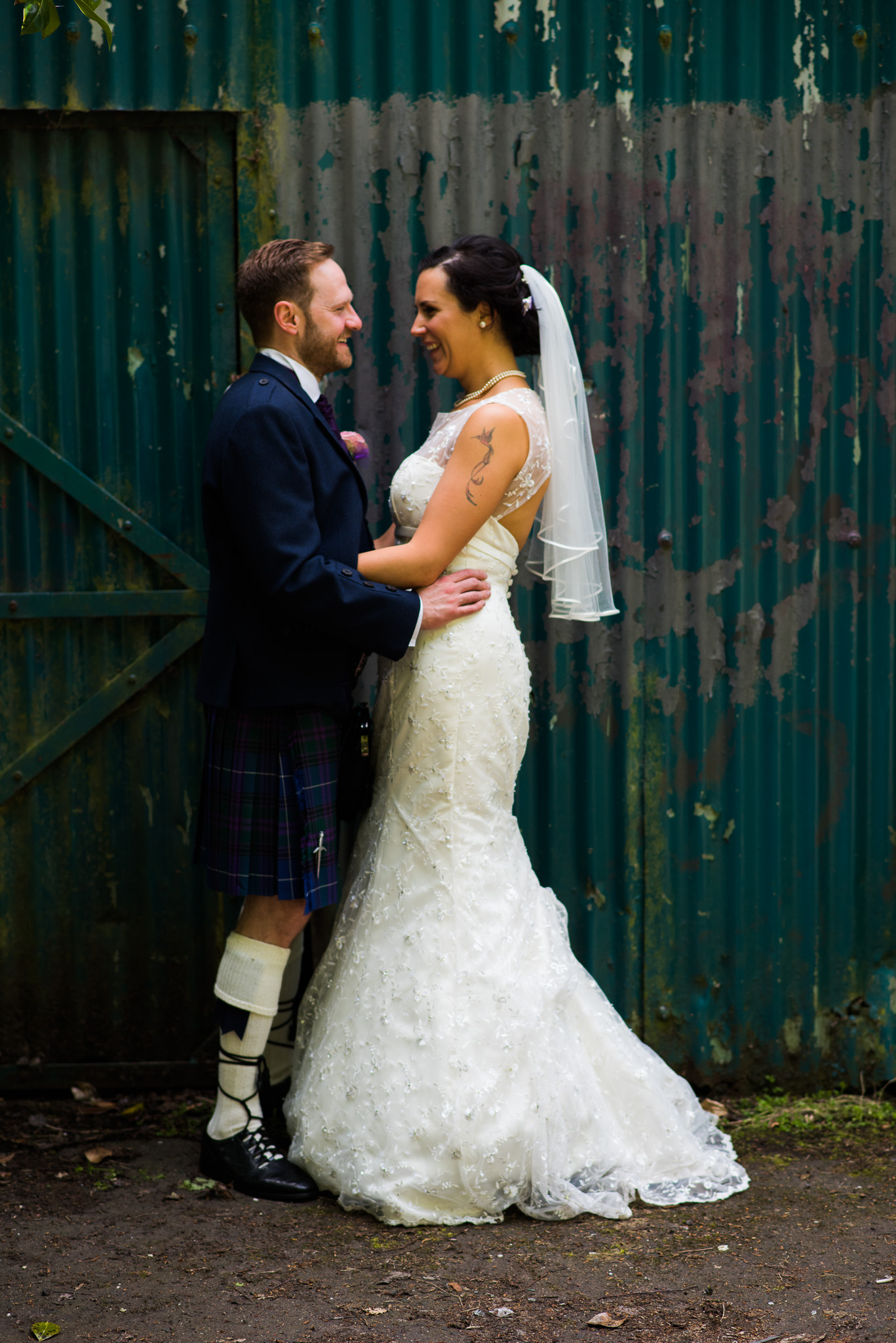 Glasgow Wedding at Pollokshields Burgh Hall