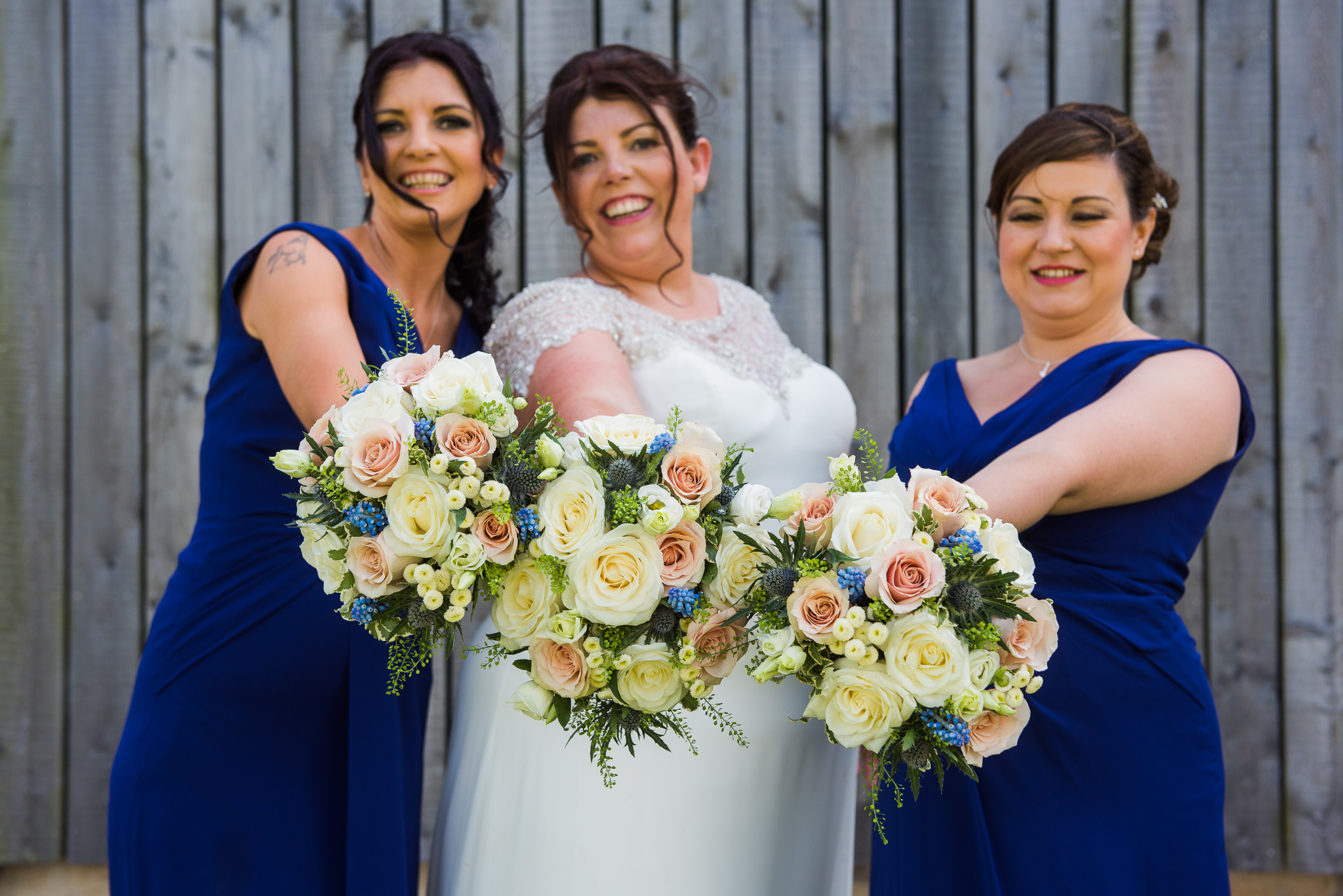 Ardoch Wedding Bride Bridesmaids