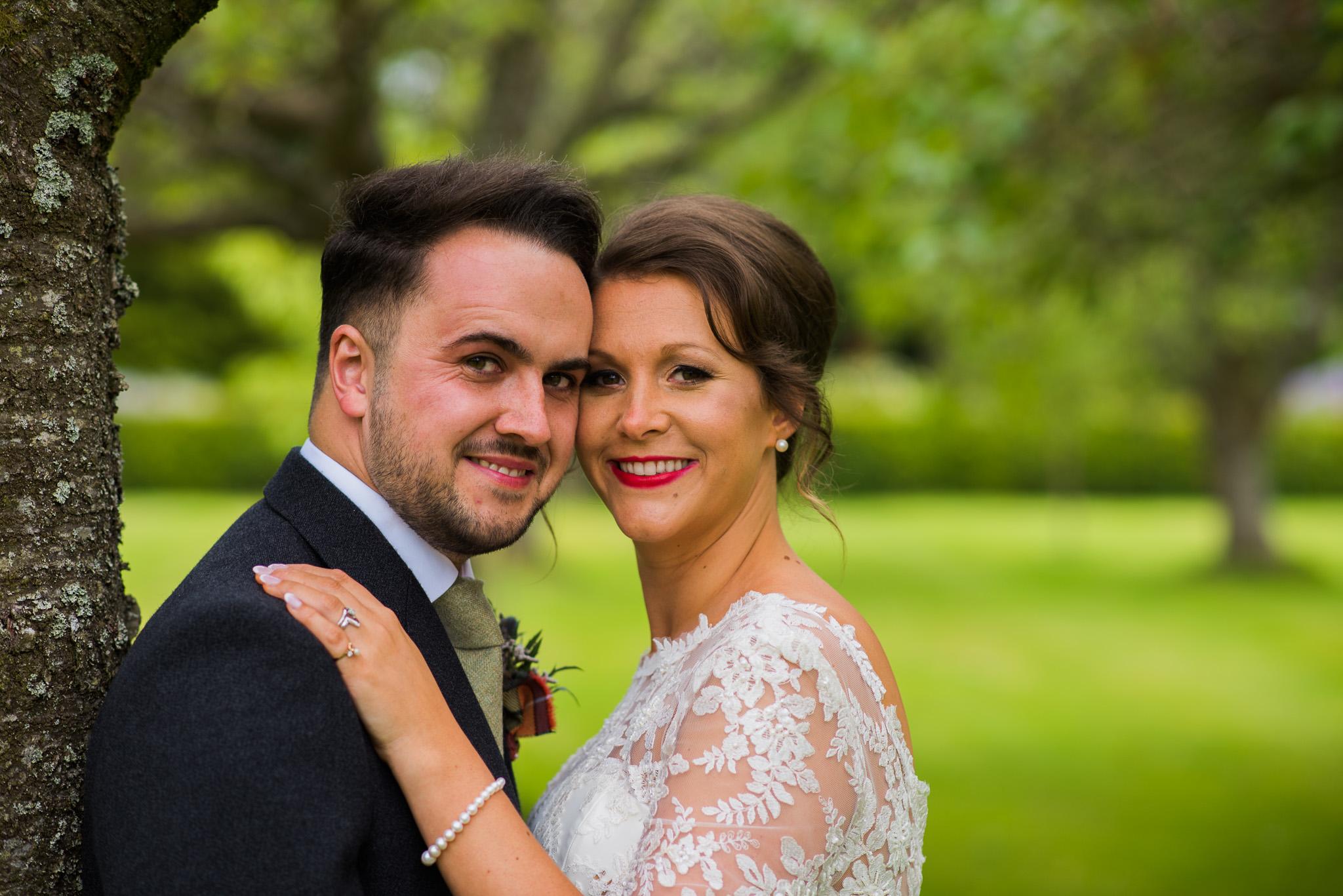 Bride and Groom Kirknewton Stables