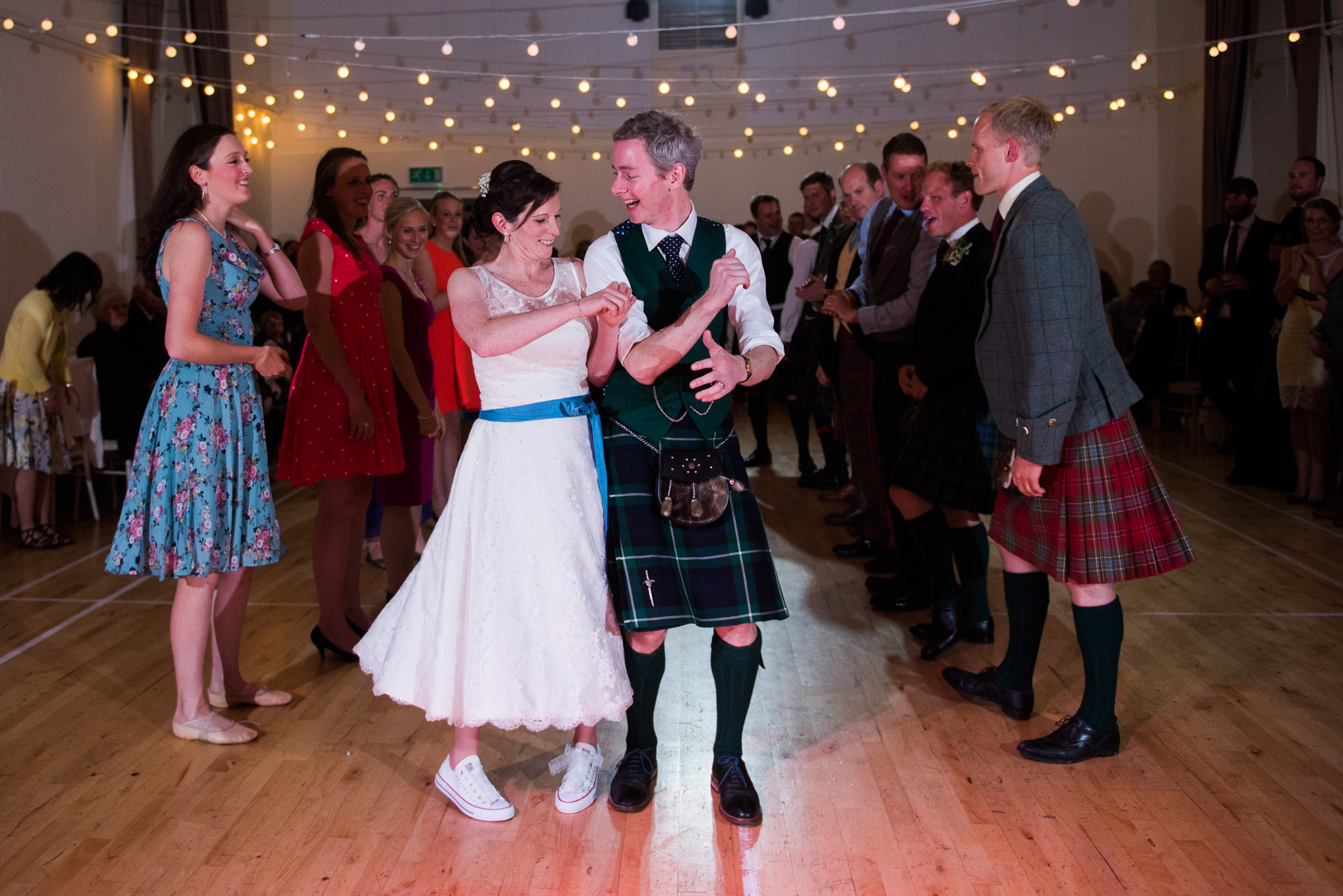 Three Sisters Bake Killearn Wedding Ceilidh