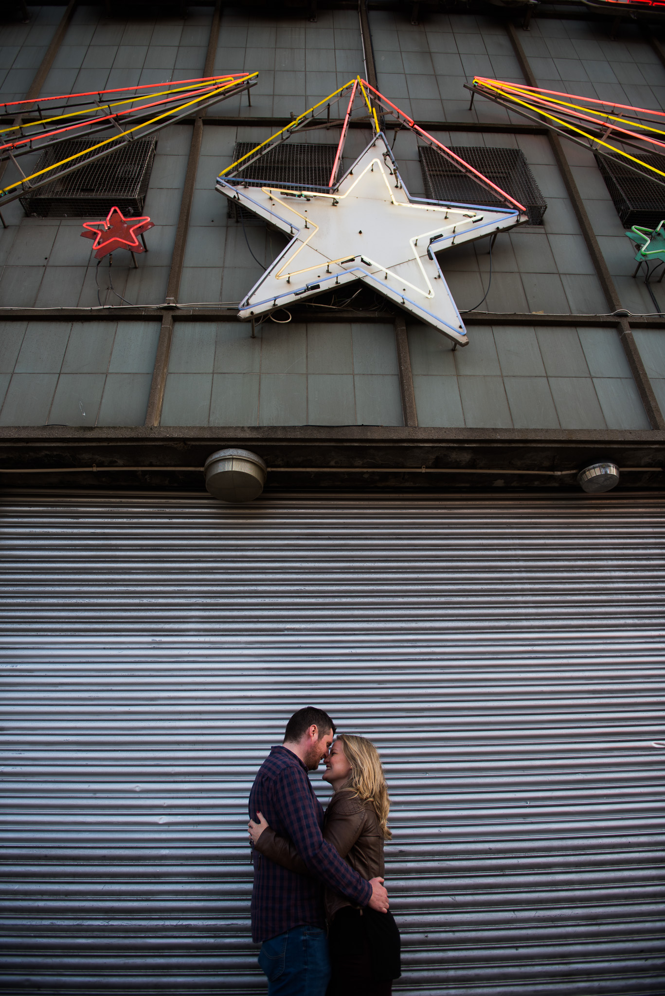 Glasgow Engagement Session at The Barrowlands
