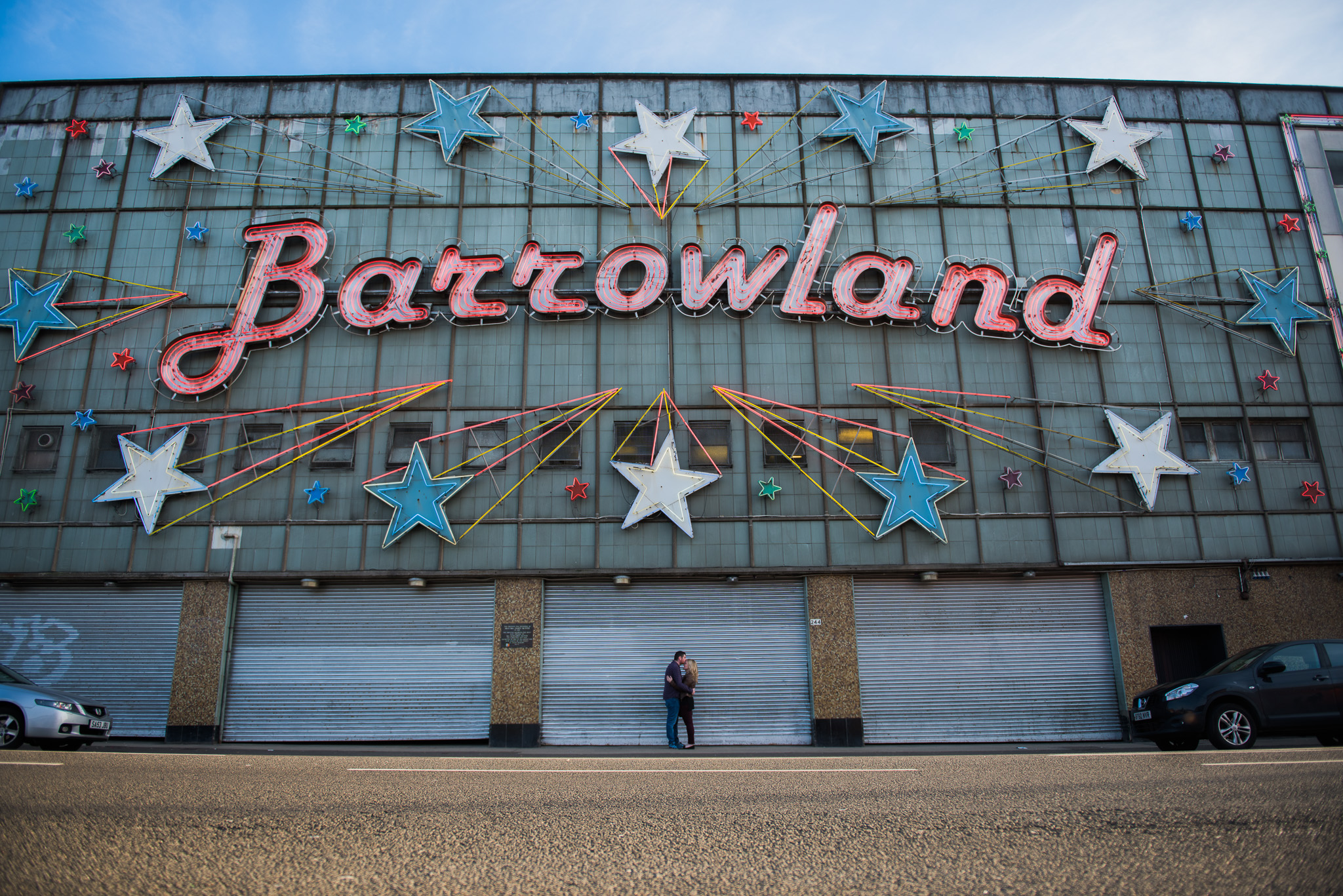The Barrowlands Engagement Session