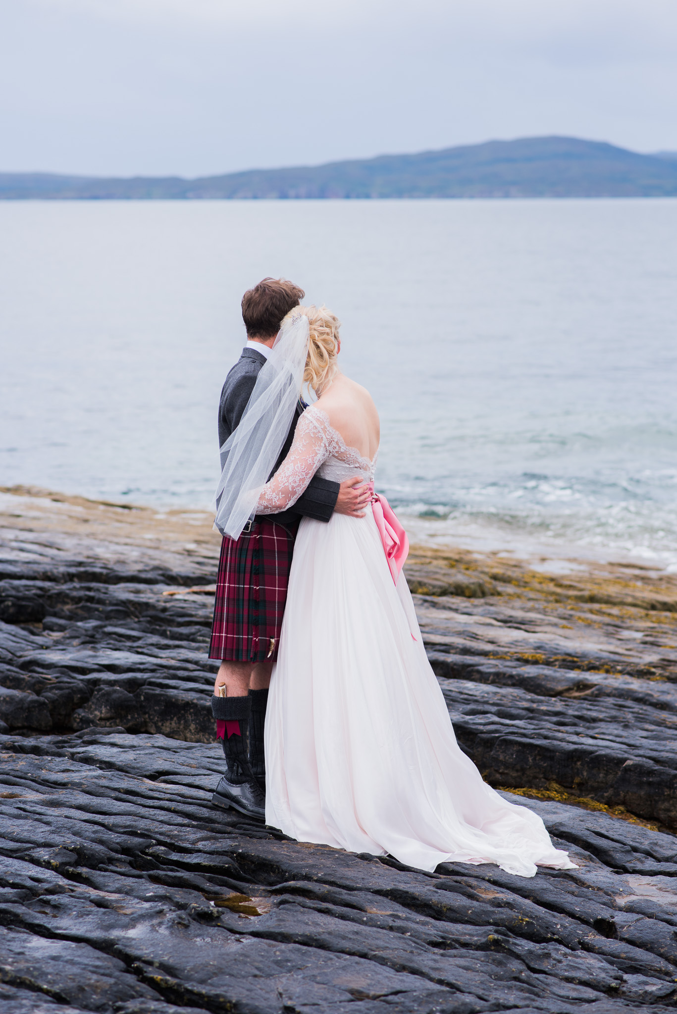 Elgol Skye Bride & Groom