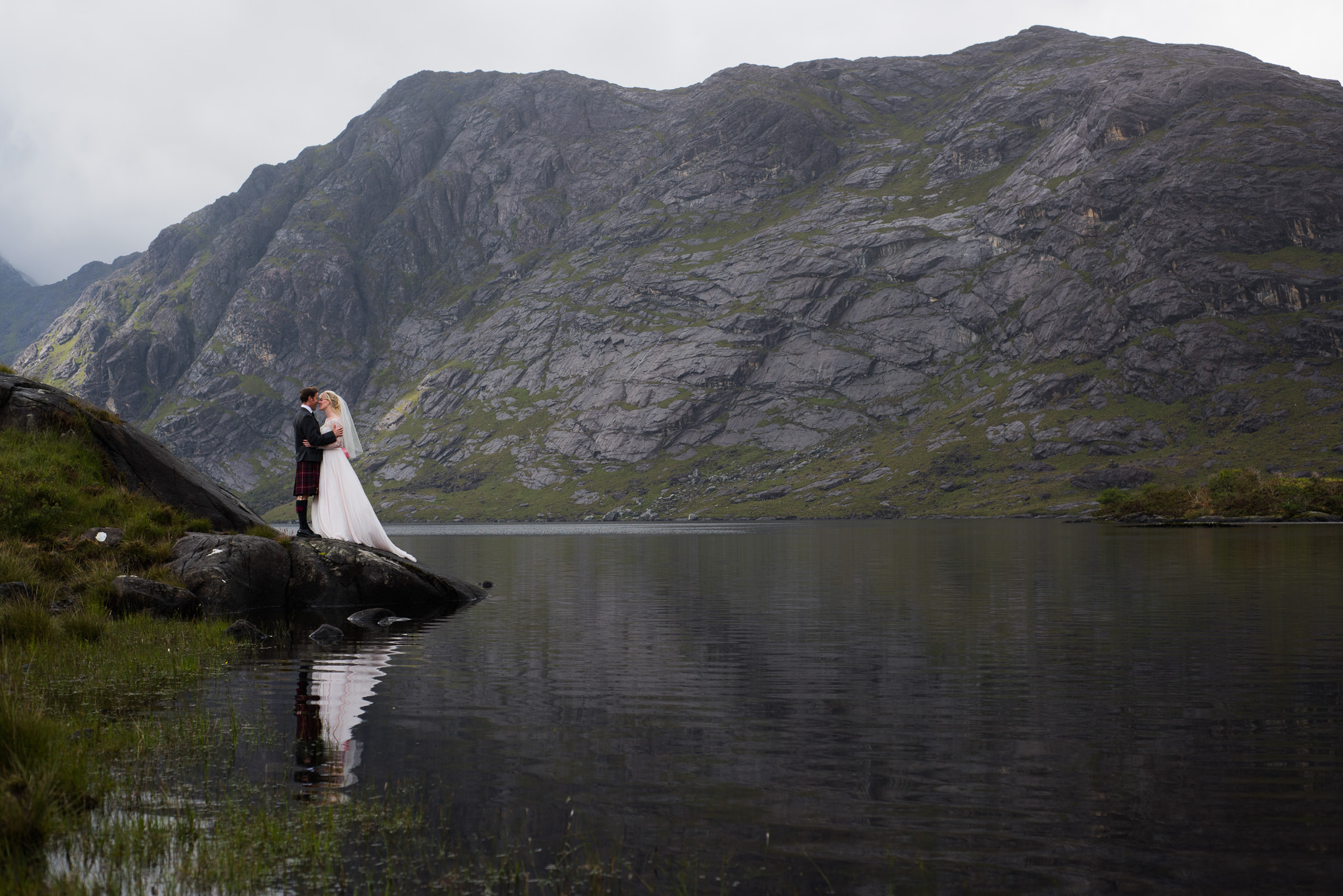 Loch Coruisk for Skye Elopement